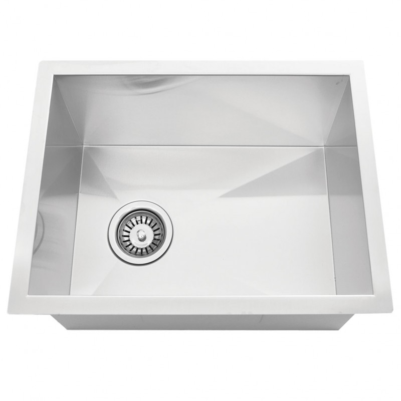 "Stainless Steel Undermount Bar Sink - 15"" x 20"" x 10"""