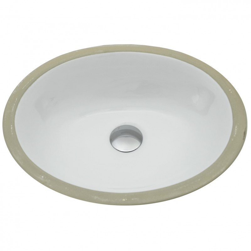 small oval undermount sink
