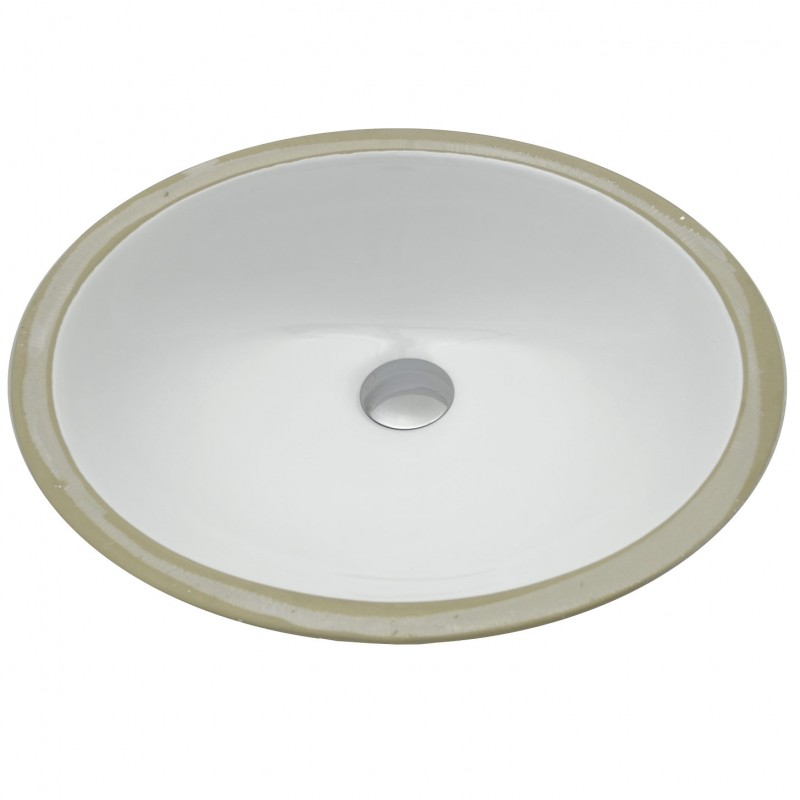 Medium Oval Undermount sink